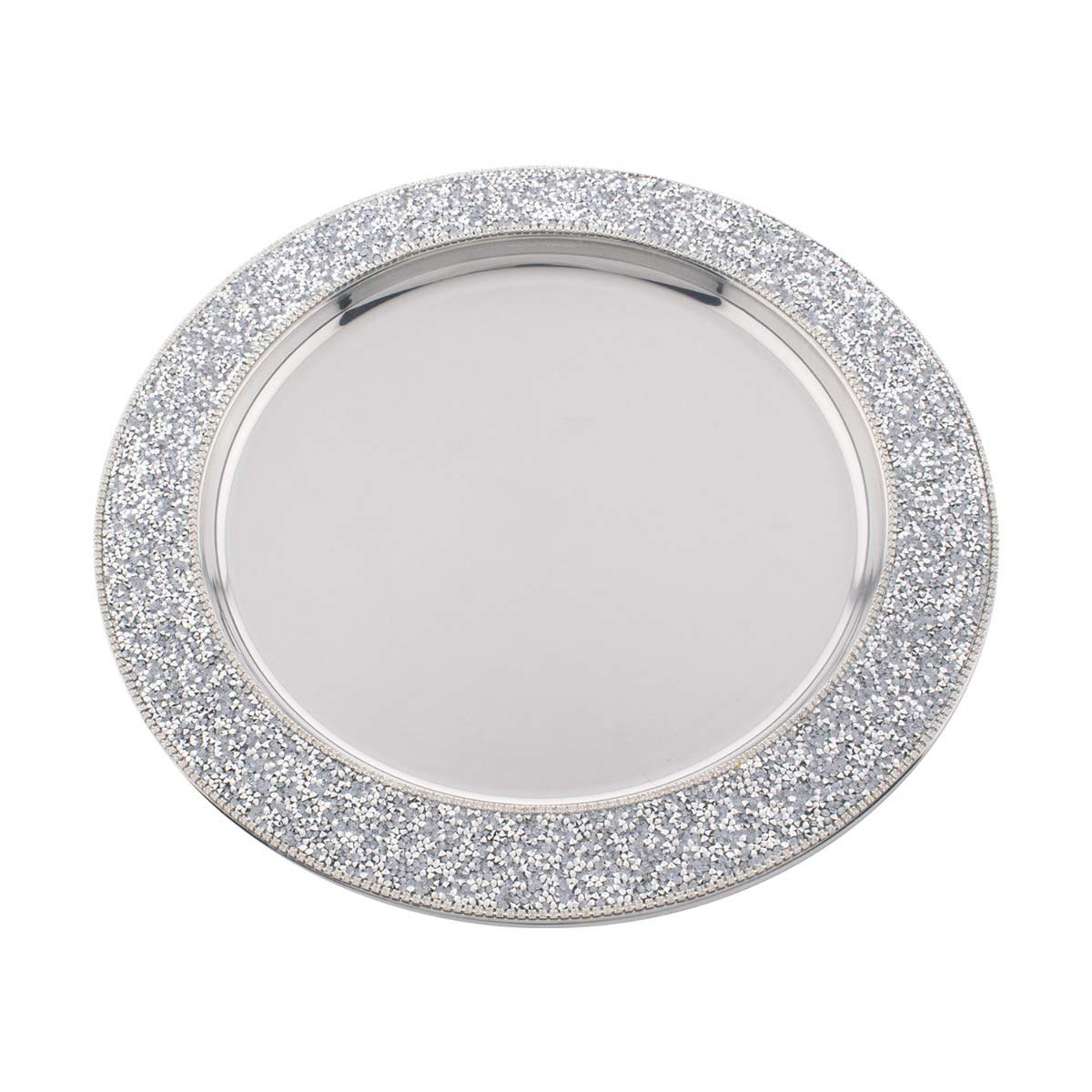 Sparkles Home Luminous Charger Plate